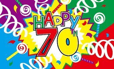 Happy 70th Birthday Flag 5ft x 3ft by Another Quality product supplied by klicnow. $7.29. Happy 70th Birthday Flag 5ft x 3ft