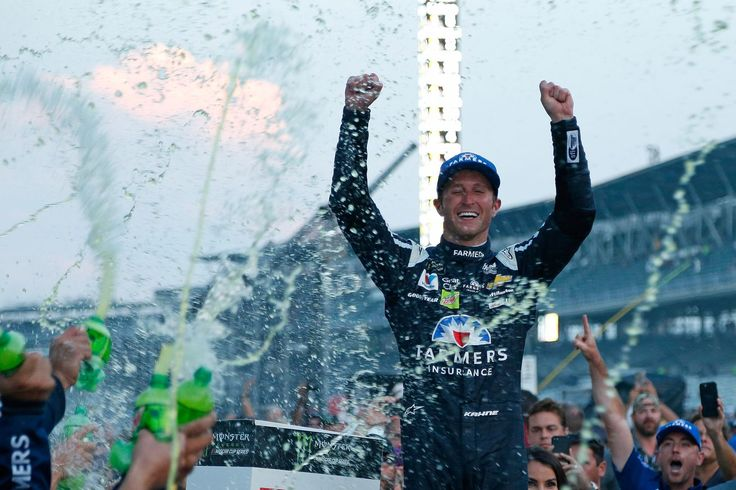 Brickyard 400 resultados: Kasey Kahne, gana la carrera de NASCAR en el Indianapolis Motor Speedway