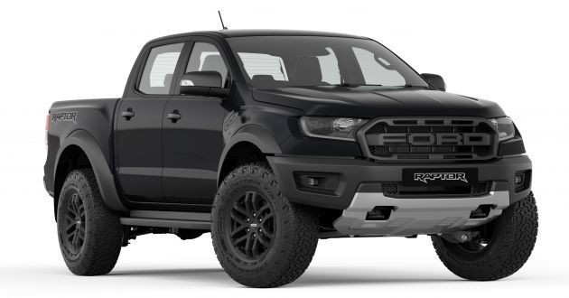 2019 Ford Ranger Absolute Black Ford Ranger Raptor 2019 Ford