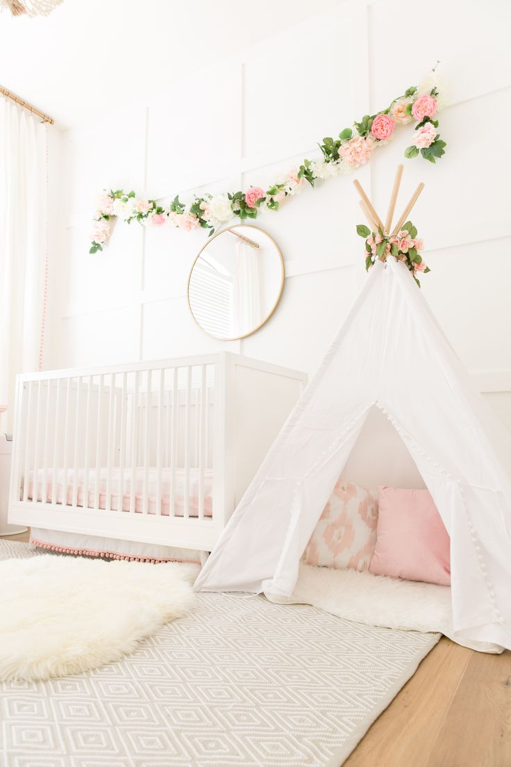 619 best Pink Nursery images on Pinterest | Child room, Babies ...