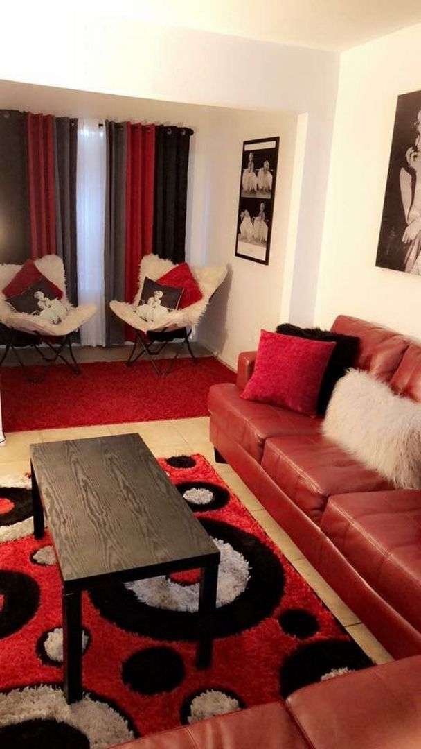 89 Cozy Burgundy Carpet Bedroom 64 Red Couch Living Room Black And Red Living Room Red Living Room Decor