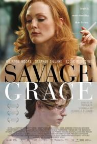 Savage Grace.  A dramatization of the shocking Barbara Daly Baekeland murder case, which happened in a posh London flat on Friday 17 November 1972.