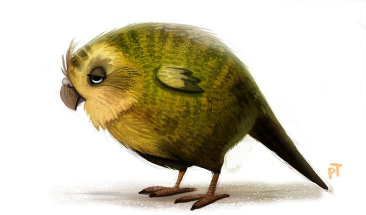Day 566. Kakapo by Cryptid-Creations on deviantART