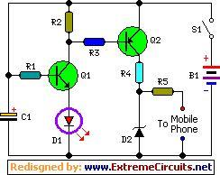 chargeur téléphone portable universel avec pile