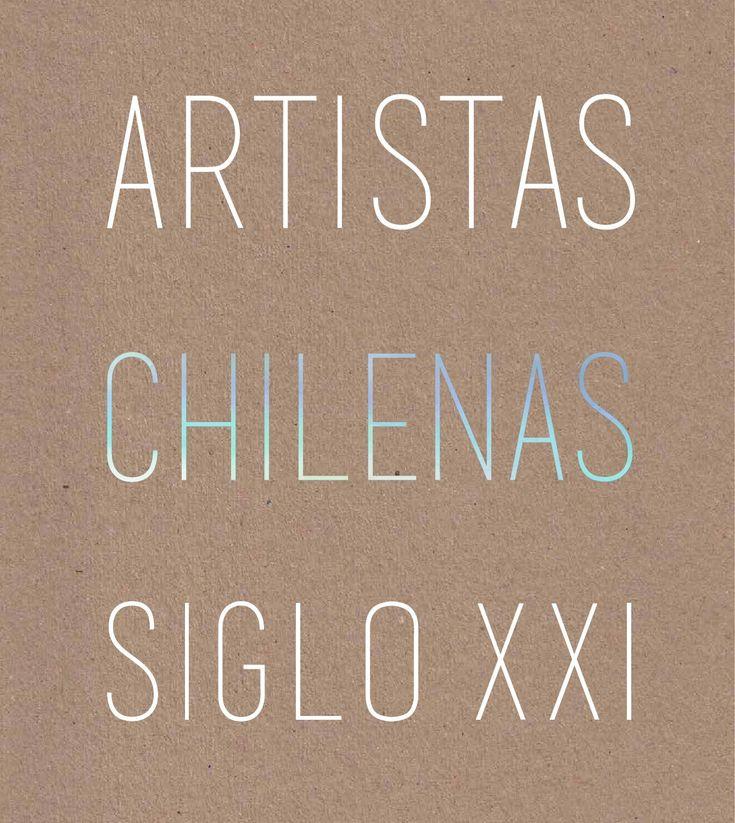 Libro que reúne a 50 artistas chilenas contemporáneas.