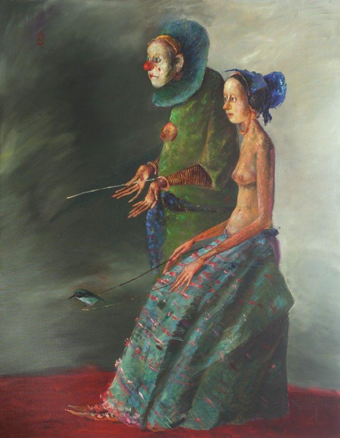 Ştefan Câlţia, Pierrot și Colombina