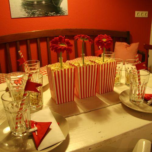 Rockabilly Tischdeko Zum Selberbasteln Für 50 Er Jahre Fans Oder