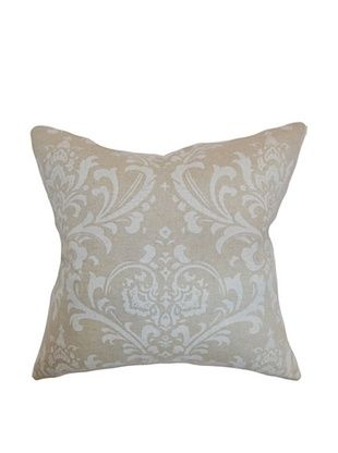 43% OFF The Pillow Collection Olavarria Damask Pillow, Pale Blue