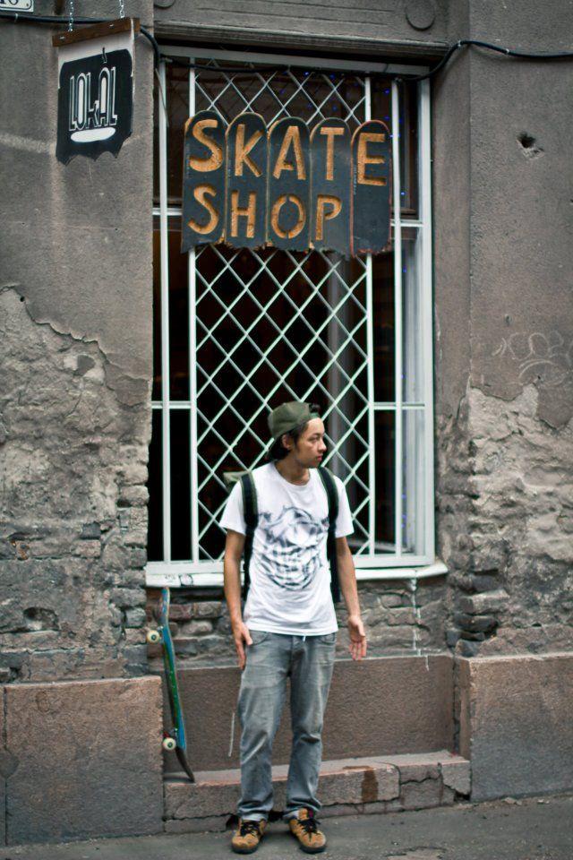 Blind Chic. x Lokál skateshop collaboration - Scumbag 2012