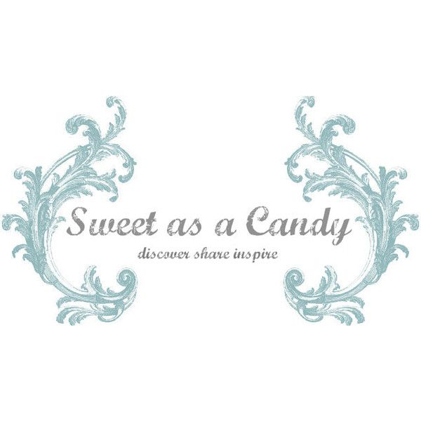 Sweet as a candy ❤ liked on Polyvore