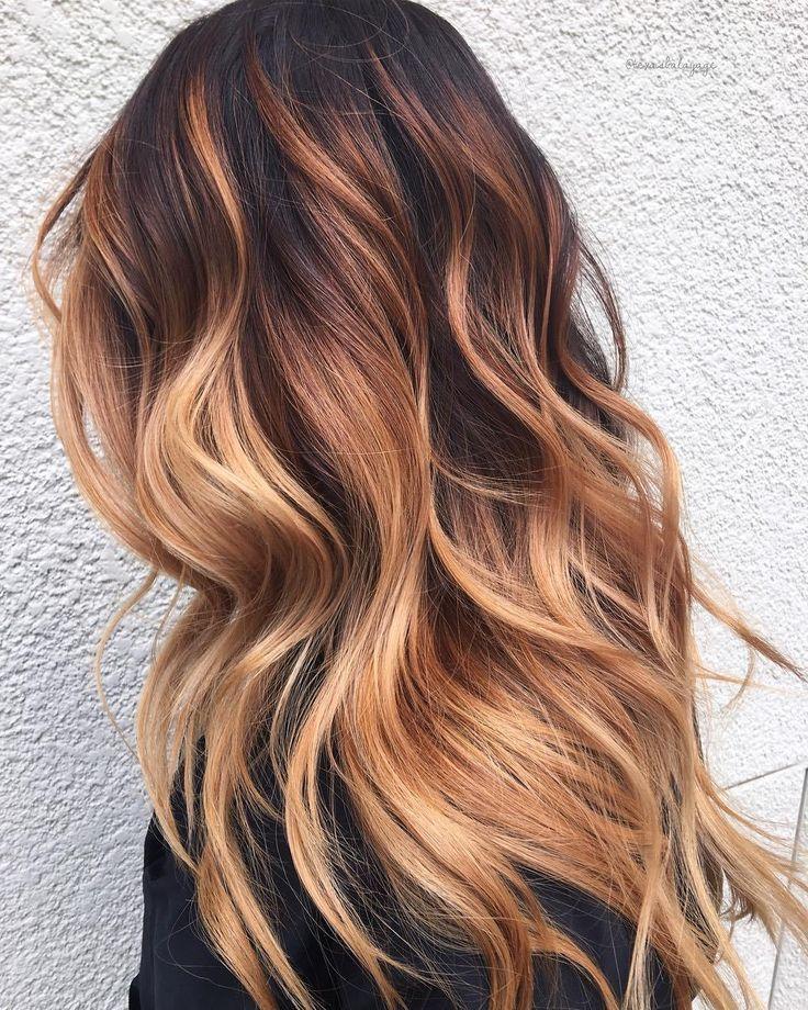 60 Looks mit karamellfarbenen Akzenten auf braunem…