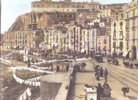 Strada Santa Lucia Monte Echia e Pizzo Falcone