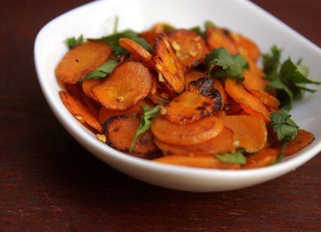 Cenoura salteada
