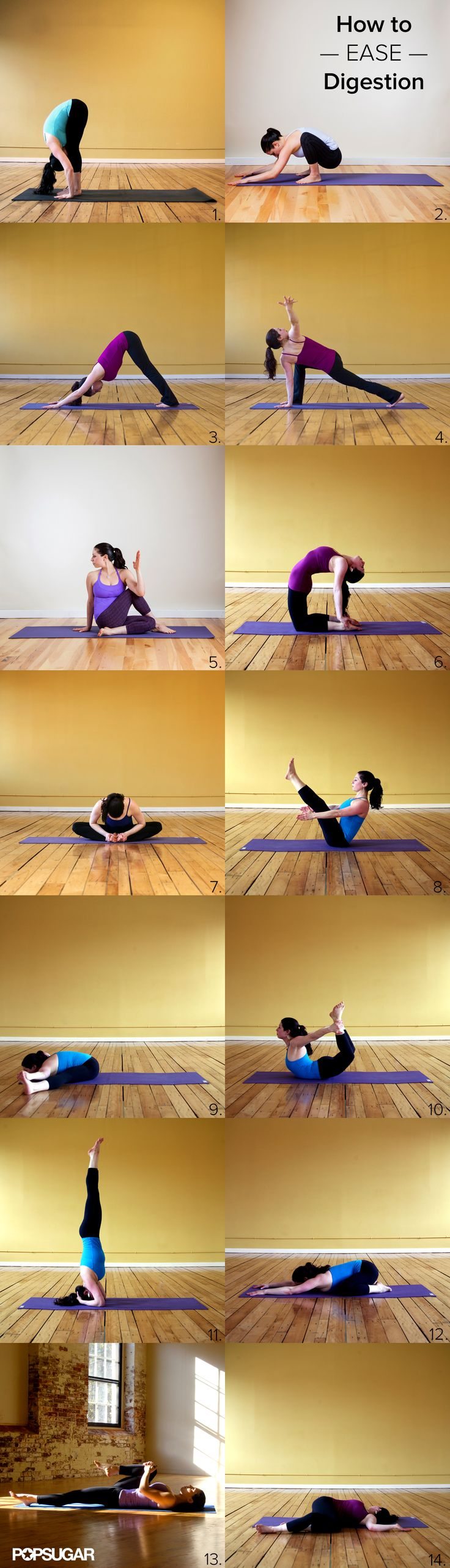 Stuffed From Too Much Stuffing? Yoga to Ease Digestion - This is what I need after eating gluten....