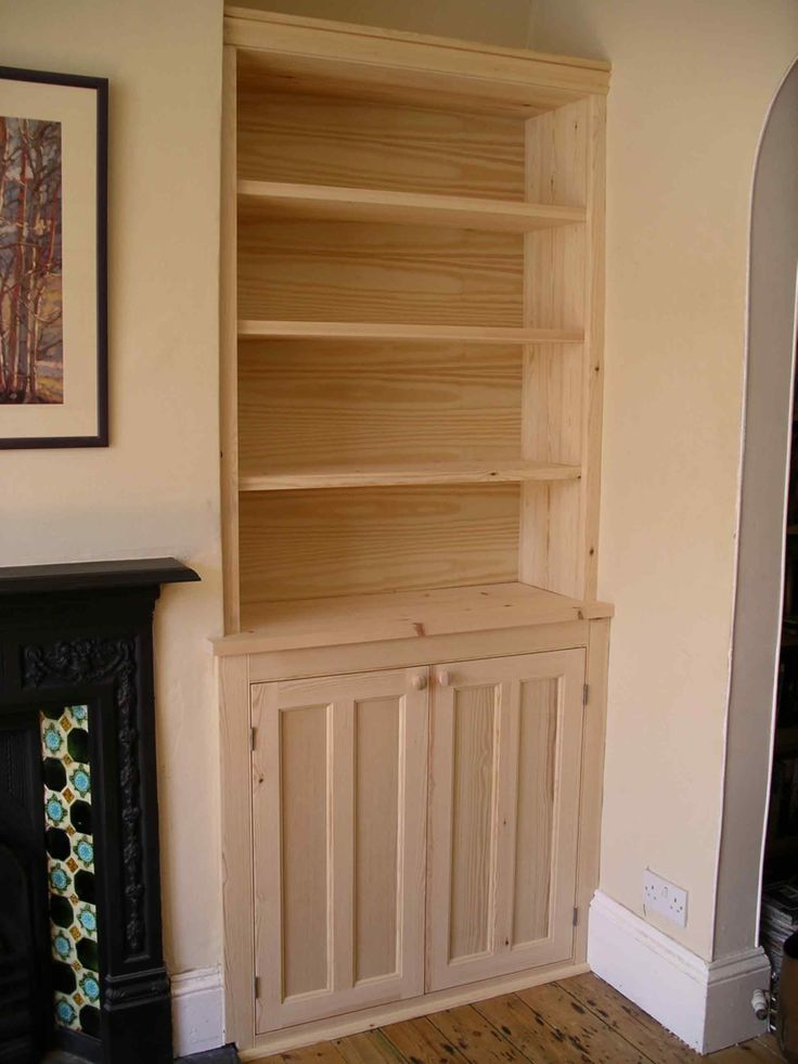 Hall Cupboards Furniture hall cupboards furniture alcove cabinet in solid softwood ready