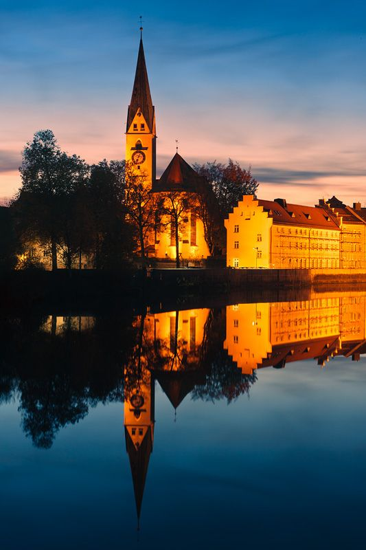St. Mang Abbey, Kempten, Allgau, Bavaria, Germany