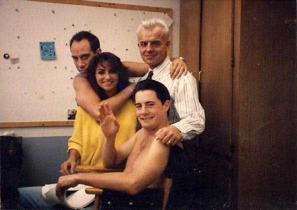 Miguel Ferrer, Kyle Maclachlan and Ray Wise | Rare and beautiful celebrity photos