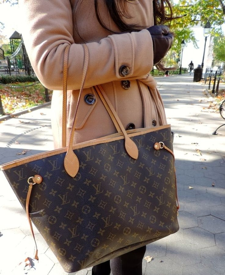 710af4e3ef9b7 Louis Vuitton Brown Monogram Canvas Neverfull GM Tote Bag SP4017 .