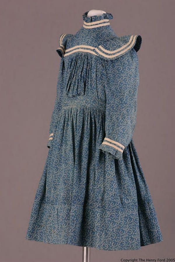 Girl's dress, 1900-1915, United States.