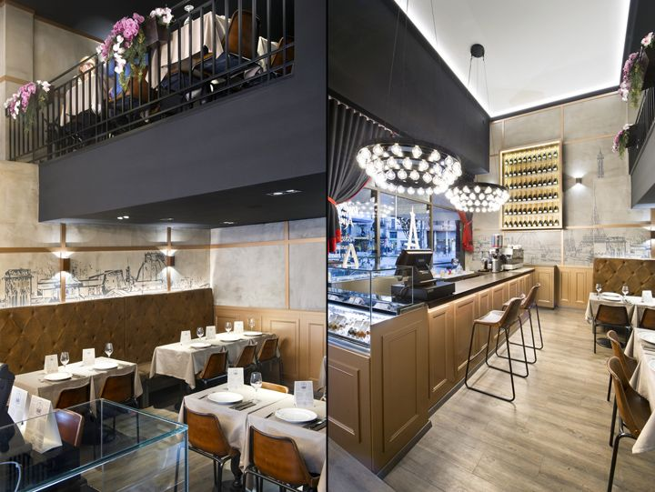 Madeleine Mon Amour restaurant by Egue y Seta, Barcelona – Spain » Retail Design Blog