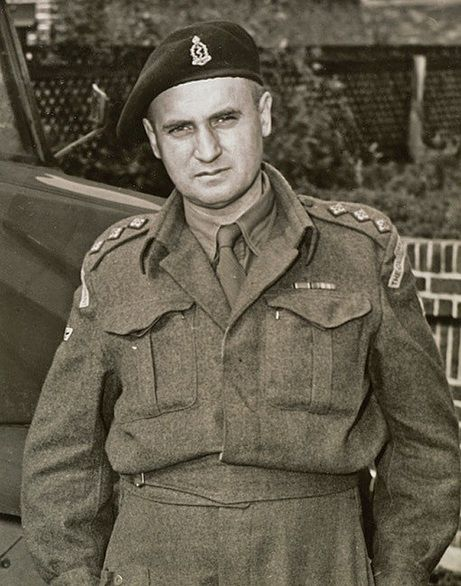 This photo of Capt. Laurence Guy Alexander, medical officer for 14th Canadian Army Tank Regiment (The Calgary Regiment) was taken in 1941. He was already a veteran -- the bar over his left breast pocket indicates the medals awarded for his service during the First World War.