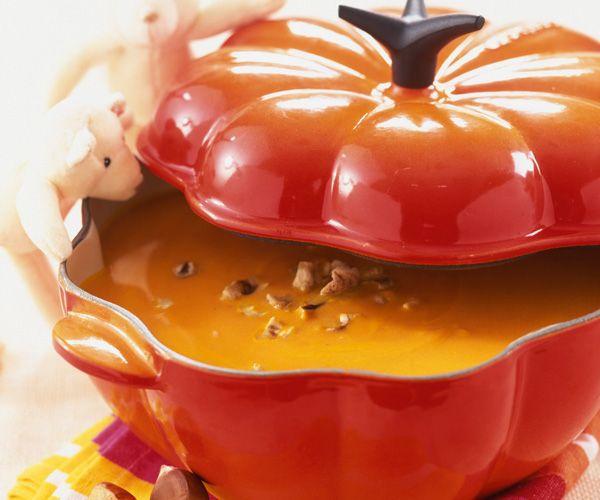 Un délicieuse soupe aux saveurs d'automne !