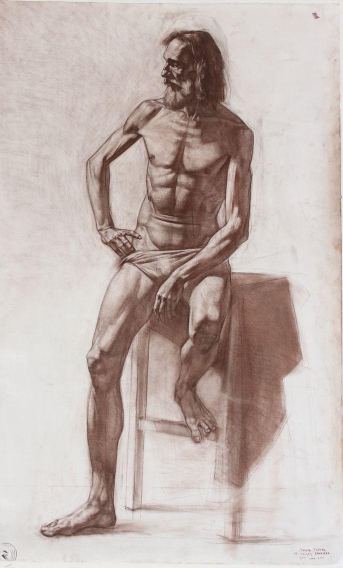 Tarelle Parker - 2015 - Russian Academy of Art | Drawing ...