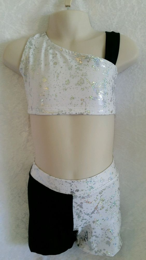 Size 4 Crop Top & Shorts Set. Gymnastic/Dance in Clothing, Shoes, Accessories, Dancewear, Children's Dancewear | eBay!