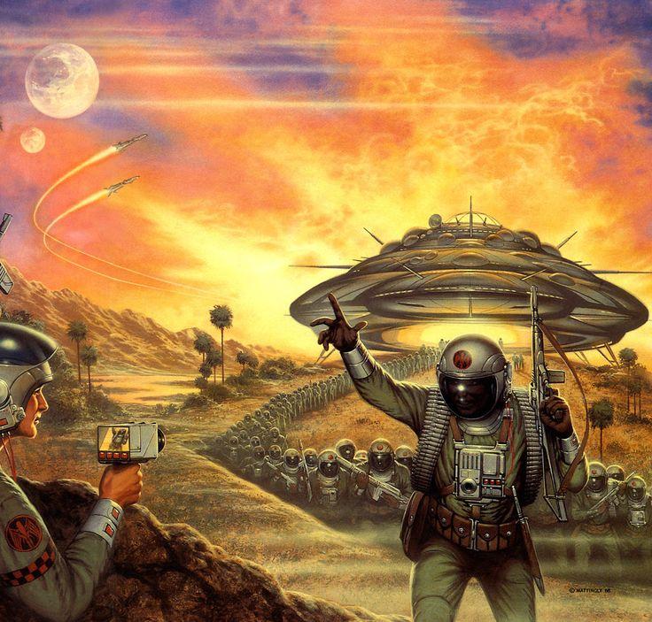 Vintage Sci Fi Art Added A New Photo: Science Fiction Art, 70s Sci