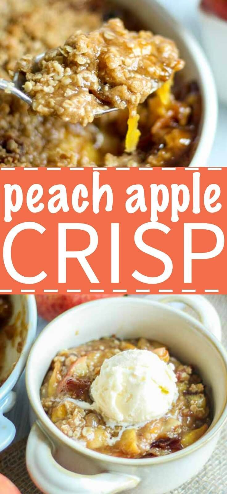 Peach Apple Crisp | What Molly Made