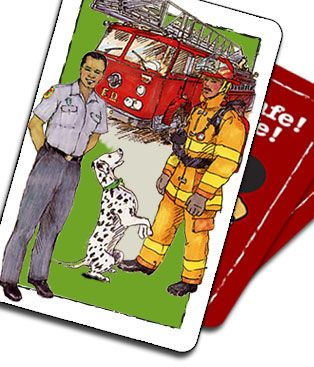Play Safe. Be Safe Fire safety unit - activities for kids to do on the computer