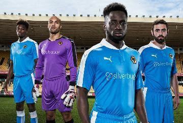 Wolverhampton Wanderers FC 2015/16 PUMA Away Kit