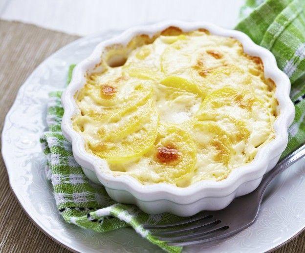 """Diaporama """"20 recettes toutes simples à faire avec un micro-ondes"""" - Gratin de pommes de terre"""