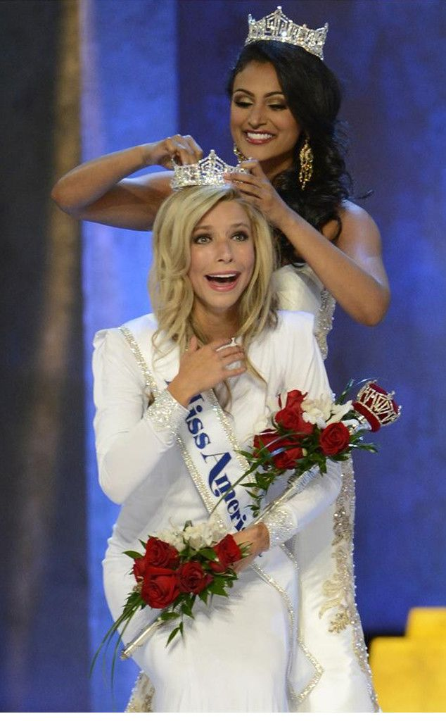 Miss New York Kira Kazantsev Crowned Miss America 2015!