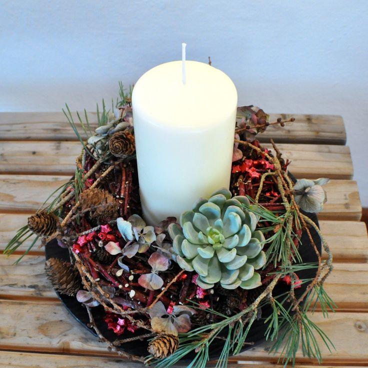 DIY: Juledekoration med trælim - Maja Maagaard
