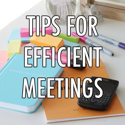 How to Make Your Work Meetings More Efficient ~ #levoleague #articles