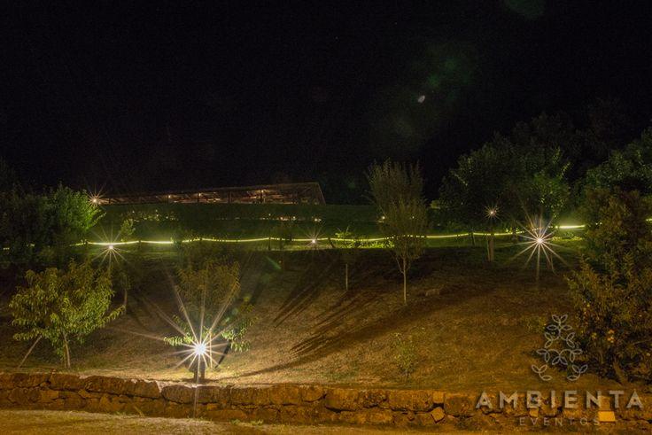 Vista panorâmica da quinta