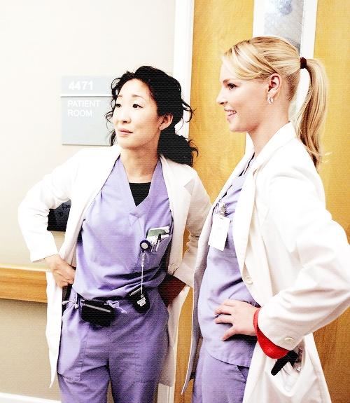 cristina yang and izzie stevens