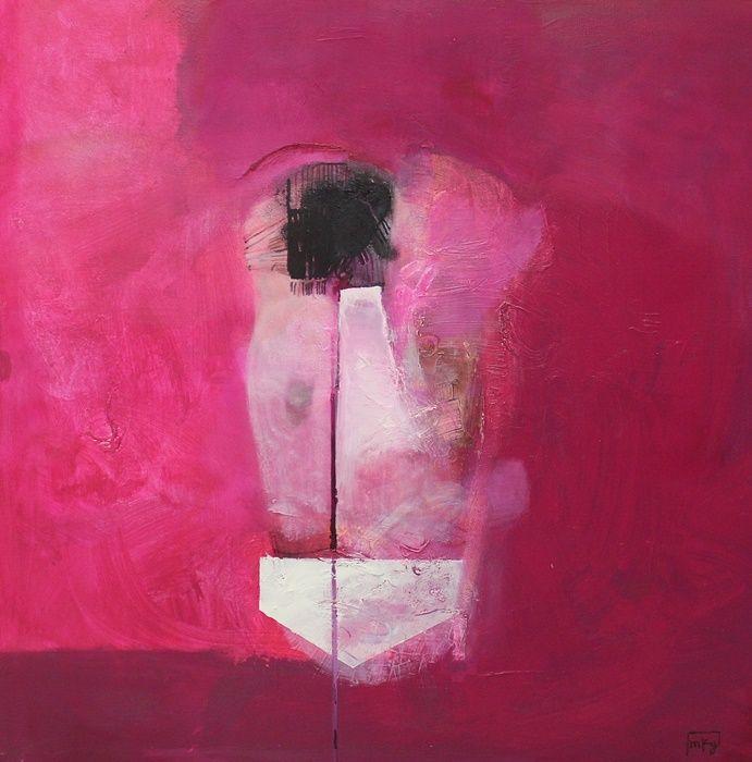 """Magdalena Kwapisz-Grabowska """"Figura w różowym"""", 2015 (źródło: materiały prasowe organizatora)"""