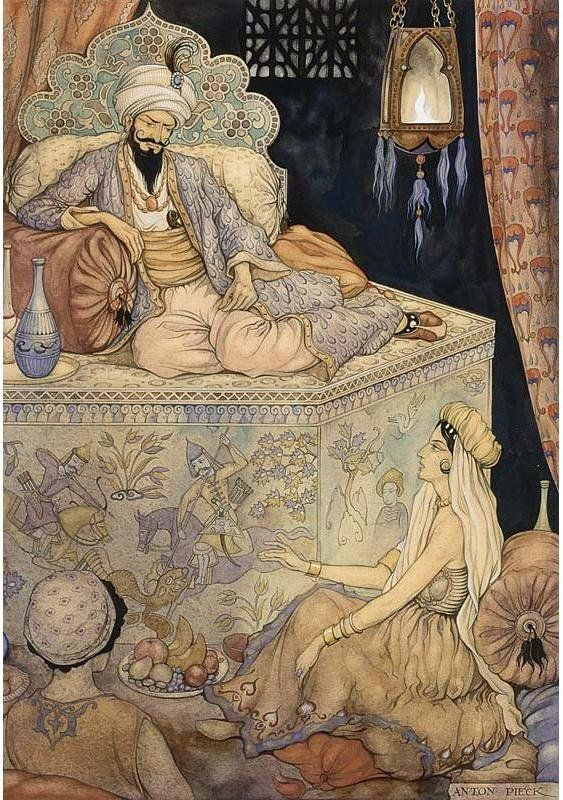 Anton Pieck (1895-1987) http://www.artistsandart.org/2009/07/art-of-anton-pieck-1001-arabian-nights.html?m=1