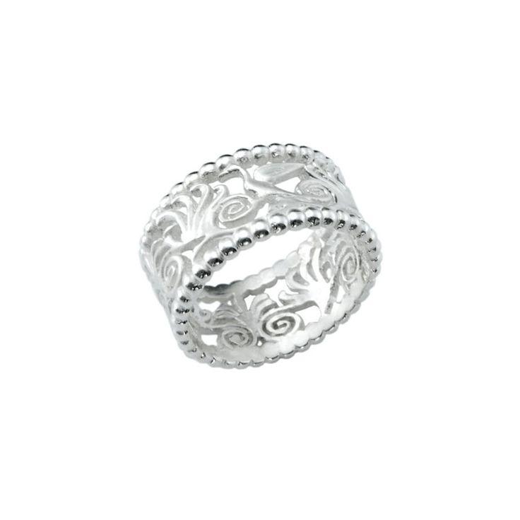 Palmette - Silver Ring  #ring #silver #palmete #Greece #gift