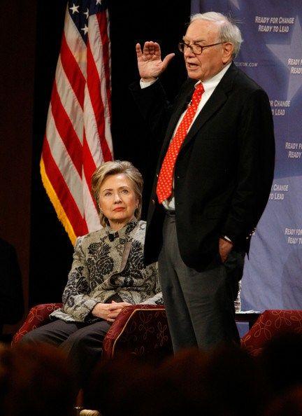 clinton warren | Hillary+Clinton+Warren+Buffett+Hillary+Clinton+PA3S-noGvHsl