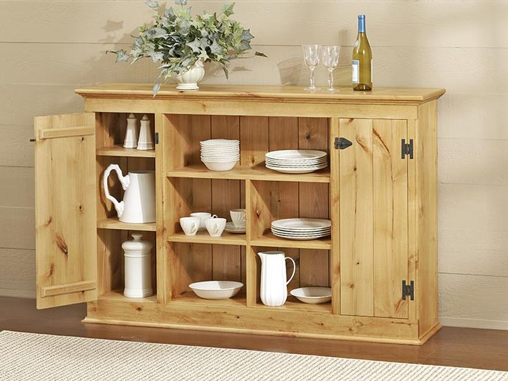 Country sideboard woodworking plan furniture cabinets