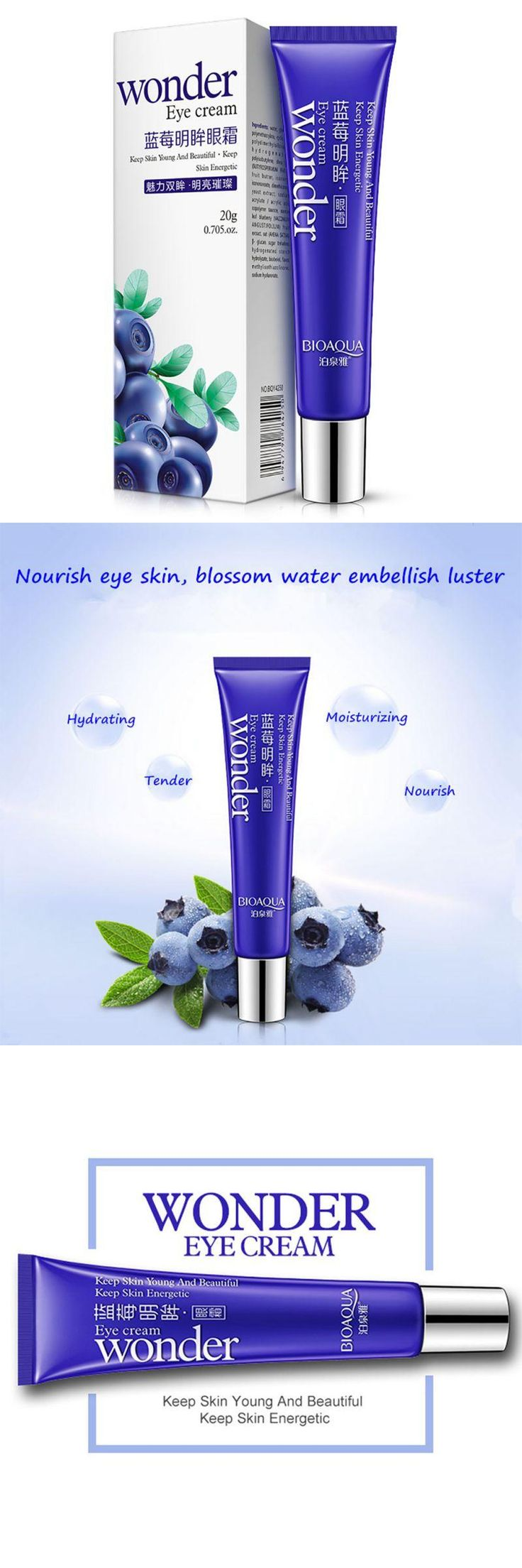 [Visit to Buy] Women Blueberry Anti-aging Anti-Wrinkle Dark Circle Remover Moisturizer Lady Eye Cream Hot Sale #Advertisement