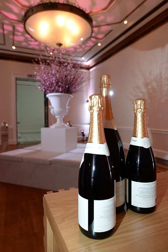 NyeTimber champagne at Kent House Knightsbridge Agency Dinner 2014