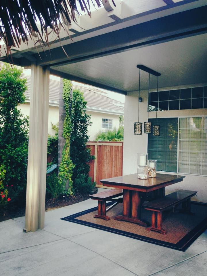 Alumawood Insulated Solid Patio Cover With Electrical And