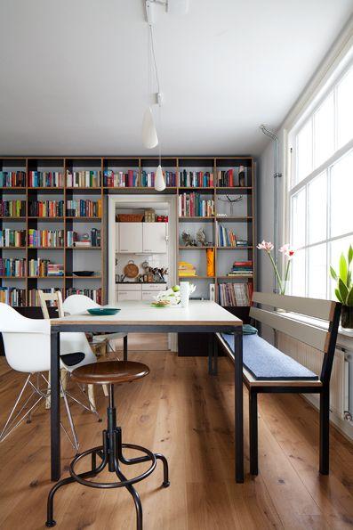Design for the space. Bookshelf.Photo by Jansje Klazinga JKF@