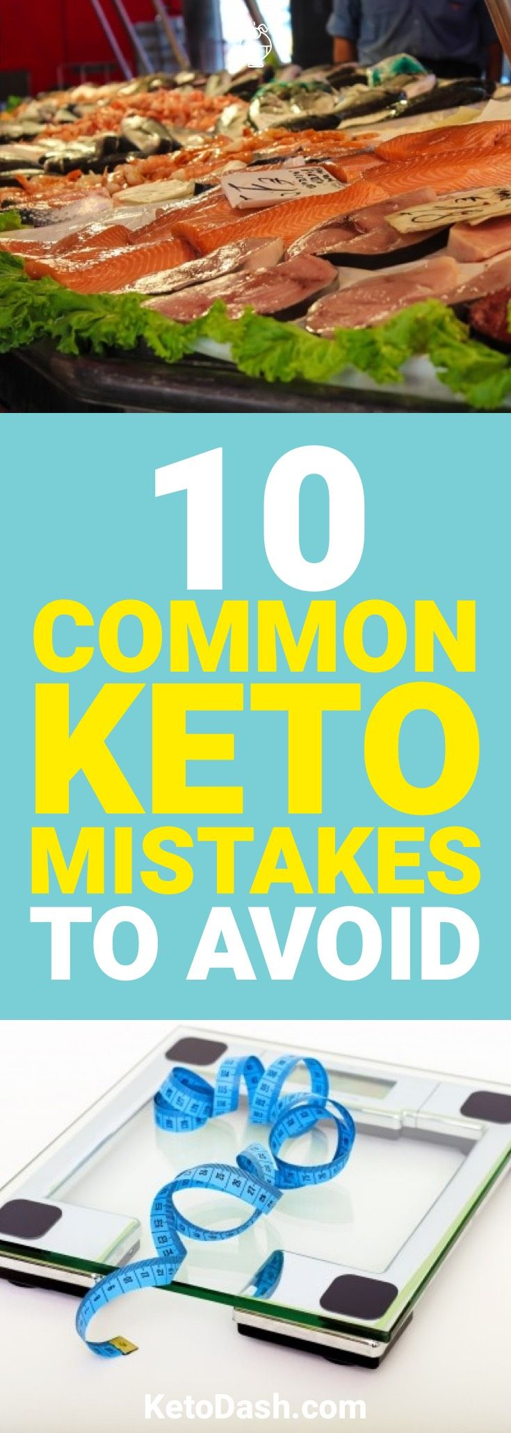 Doing keto? Here are some common keto mistakes and how you can avoid them when starting the ketogenic diet so you can lose weight fast.