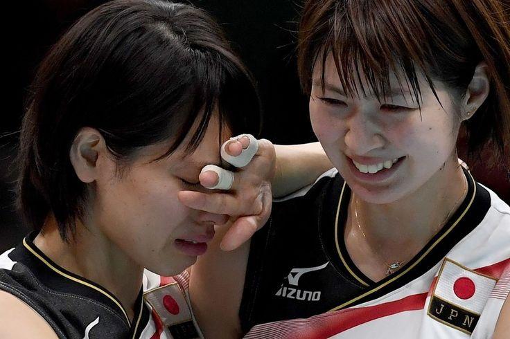 バレーボール女子、米国に敗れ敗退 2大会連続メダルならず