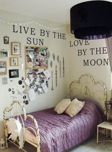 Great idea for a girls room